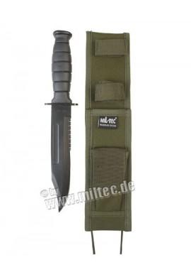 Útočný nůž 30cm Army s pochvou oliv