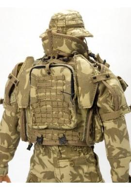 Britská vesta nosič plátů Osprey Mk II desert