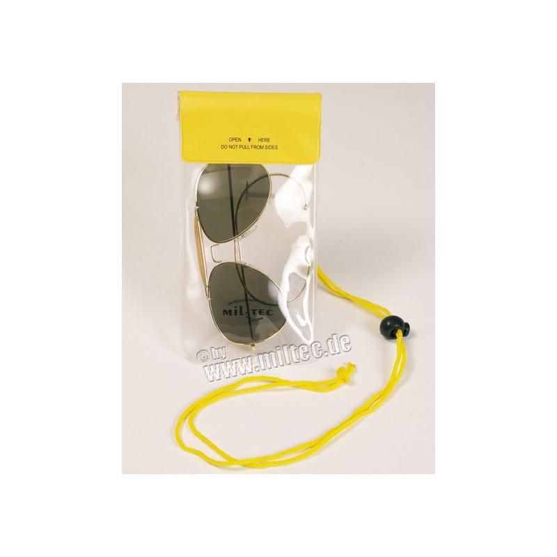 Náprsní kapsa vodotěsná 195x95mm žlutá