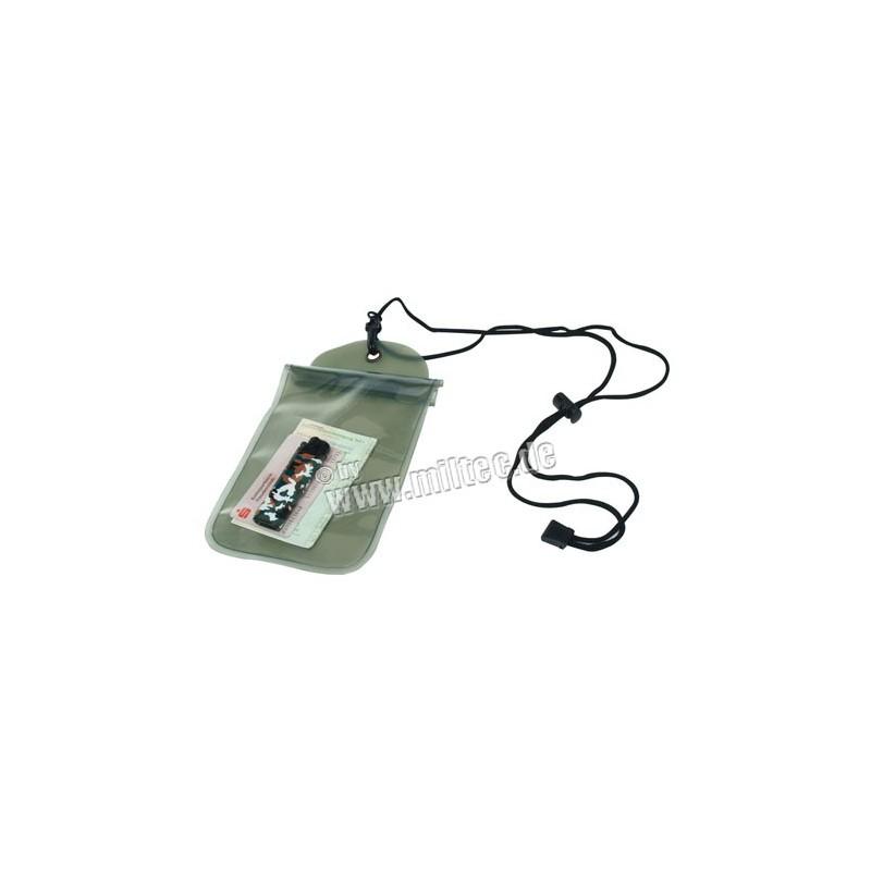 Náprsní kapsa vodotěsná 230x140mm oliv