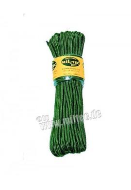 Commando nylonové lanko 15m délka (5mm) oliv