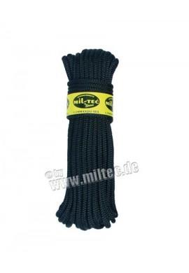 Commando nylonové lanko 15m délka (9mm) černé