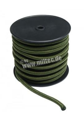 Commando nylonové lanko 50m délka (7mm) oliv