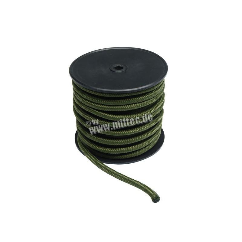 Commando nylonové lanko 30m délka (9mm) oliv