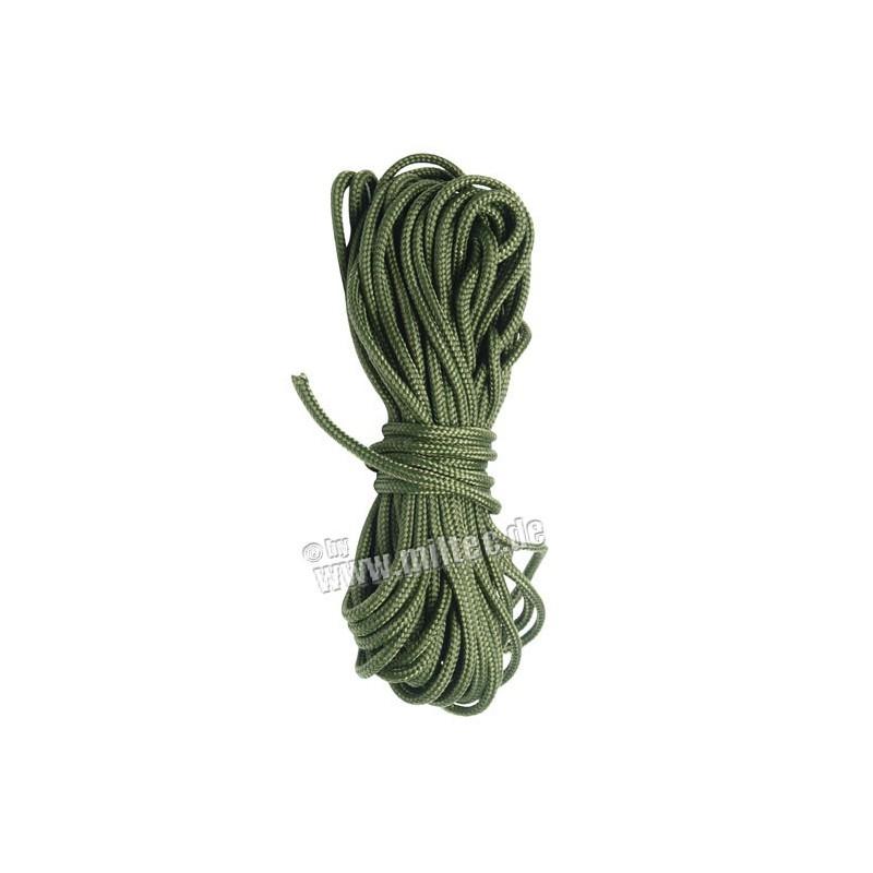 Vícežilné lanko 3mm (15m) oliv