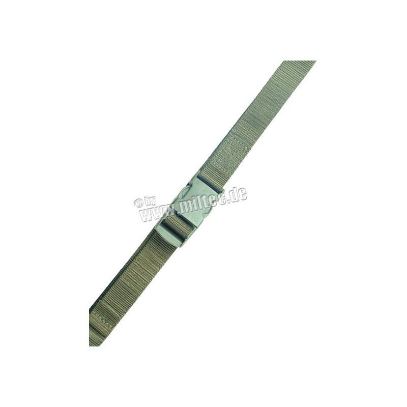 Ustrojovací řemínek nylon 25mm oliv 80cm