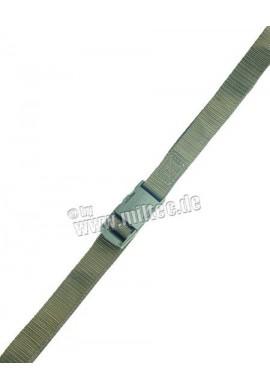 Ustrojovací řemínek nylon 25mm oliv 150cm