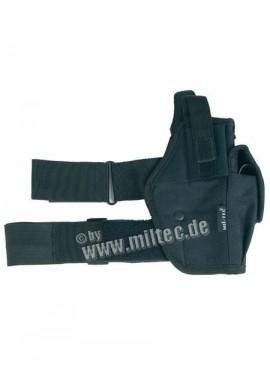 Nožní pouzdro na pistoli (L+P) černé
