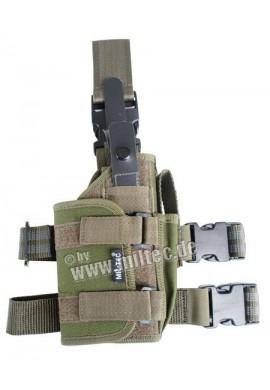 Nožní pouzdro na pistoli (L+P) cordura oliv