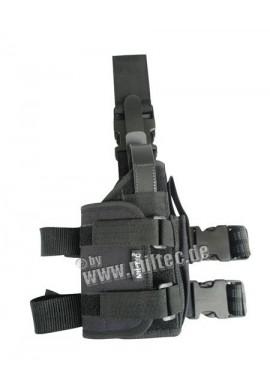 Nožní pouzdro na pistoli (L+P) cordura černé