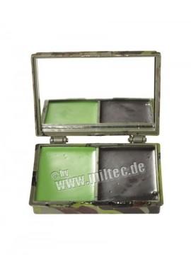 Maskovací barvy se zrcátkem oliv, černá