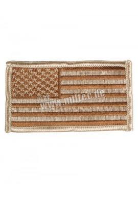 Nášivka US vlajka desert