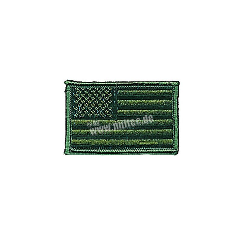 Nášivka US vlajka oliv