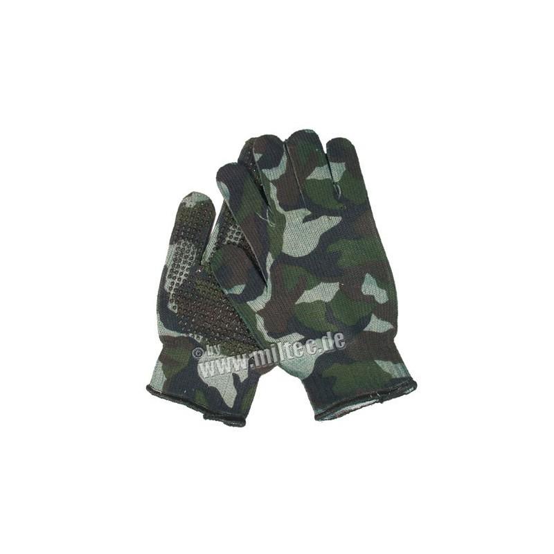 US rukavice GRIPPER W/L SPANDOFLAGE