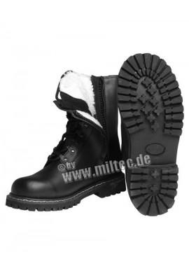 Letecké boty s e zateplením a zipem
