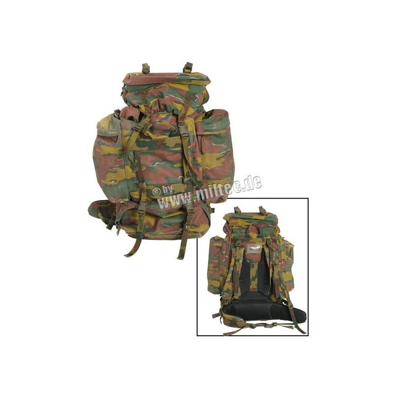 Belgický armádní batoh maskovaný 60L