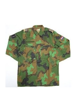 Holandská armáda tropická blůza camo