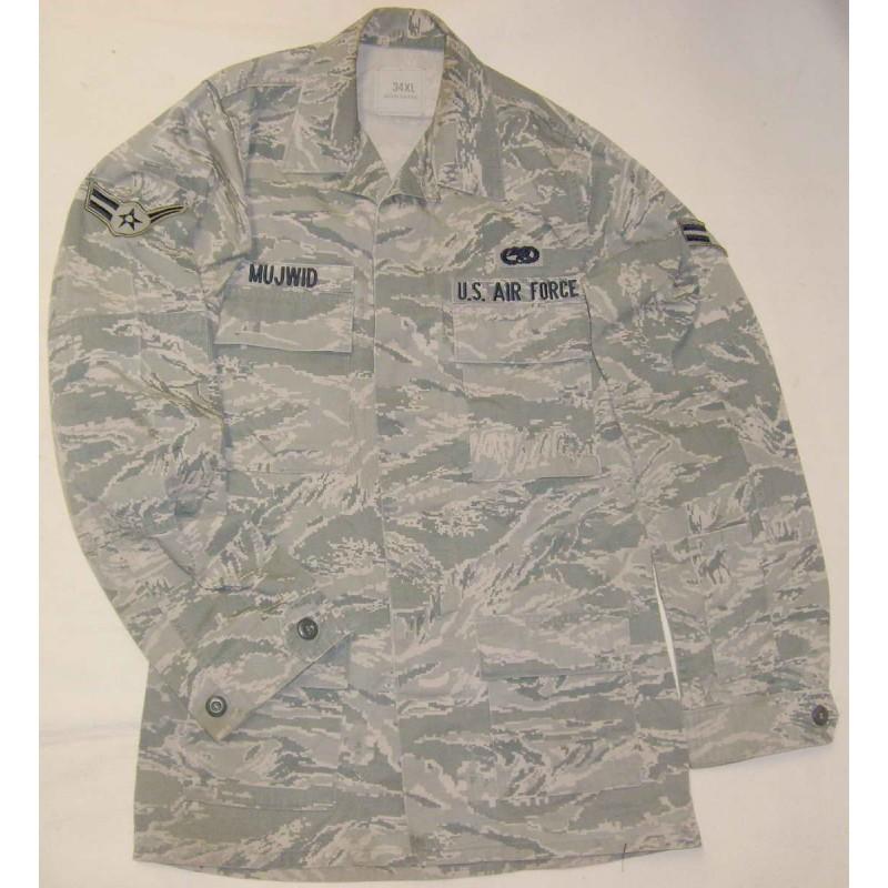 US Air Force ABU Tiger Straps blůza