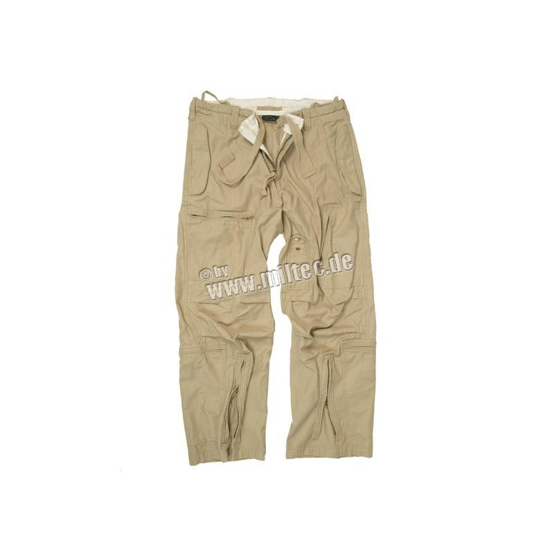 AIR kalhoty předepr. pískové XS-XXL