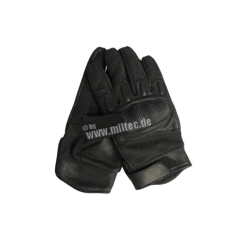 Taktické rukavice Nomex-kůže