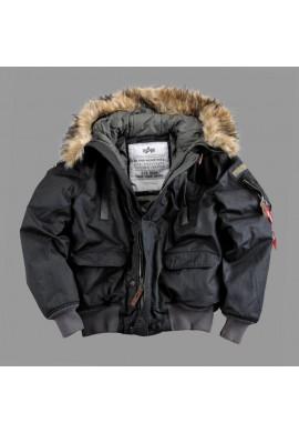 Zimí bunda Alpha Mountain Jacket černá