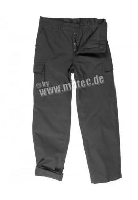 Zateplené kalhoty BW Moleskin černé