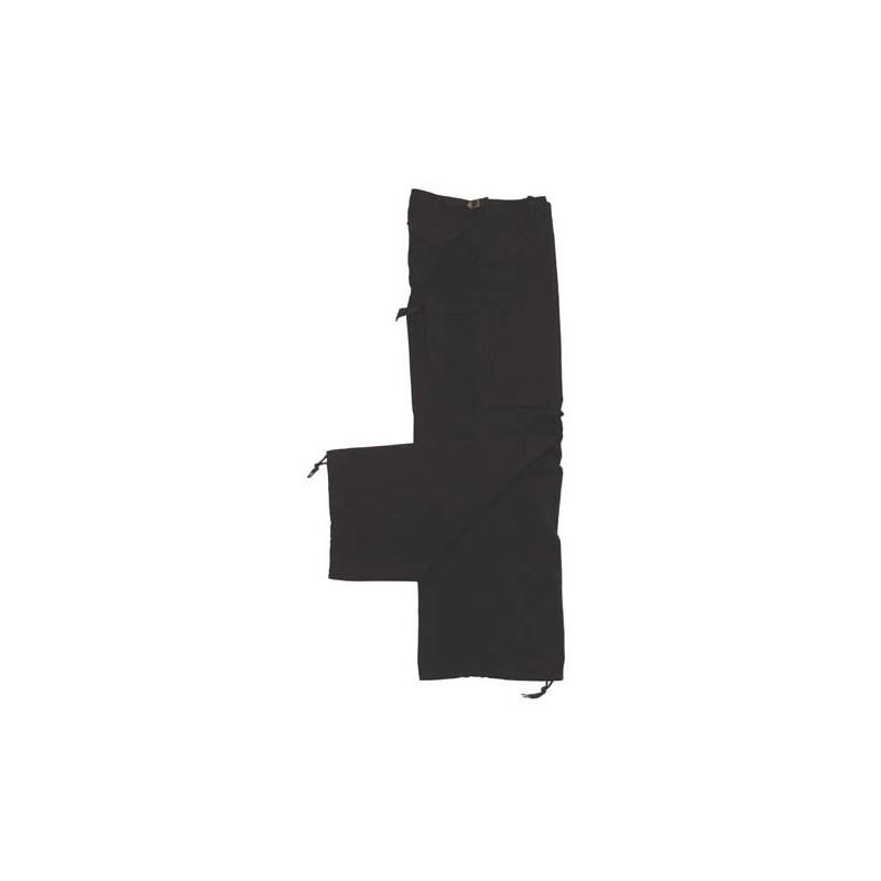 US kalhoty M65, Rip Stop černé předepr. XS-XXL