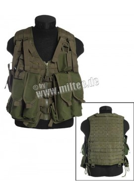 Taktická vesta AK74 zelená