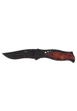 Zavírací nůž s dřevěnými střenkami
