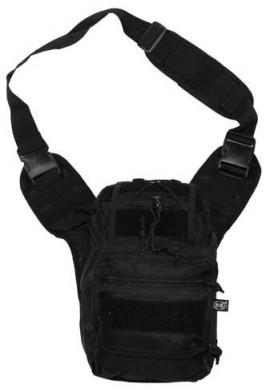 Taška přes rameno Deluxe (černá)