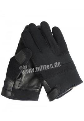 Prstové neoprenové rukavice, černá