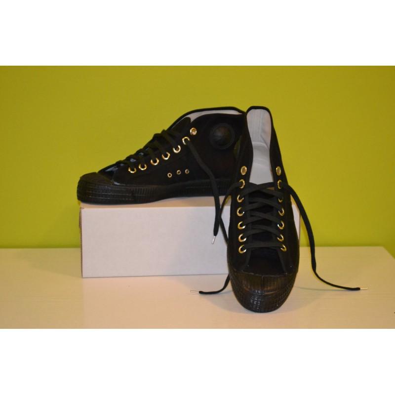 Tenisky kotníkové army - černé