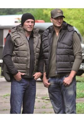 MIL-TEC® vesta zateplená s kapucí
