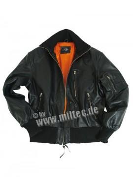 BW kožená letecká bunda černá 48-60