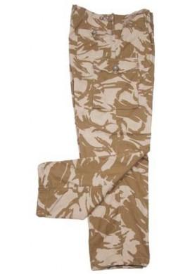 Britské pouštní DPM kalhoty