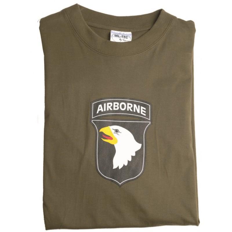 Tričko s potiskem Army Airborne