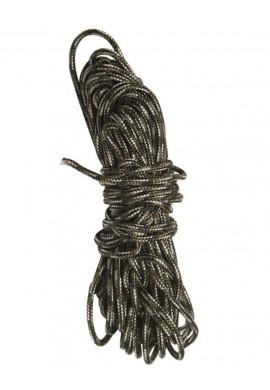 Víceúčelové lano 15m. MASKOVANÉ