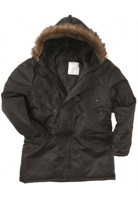 US zimní bunda N3B OLIV XS-3XL