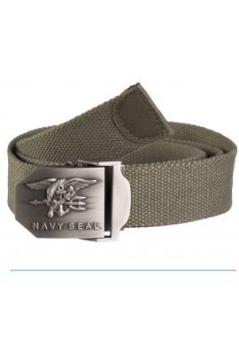 Kalhotový pásek s kovovou přeskou US Navy Seals