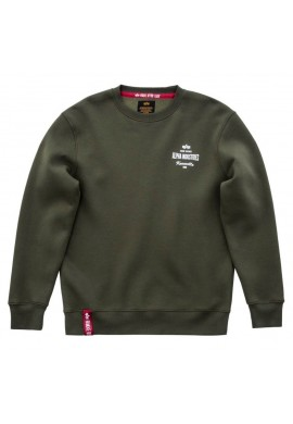 Mikina Classic Sweater Alpha Industries Dark Green