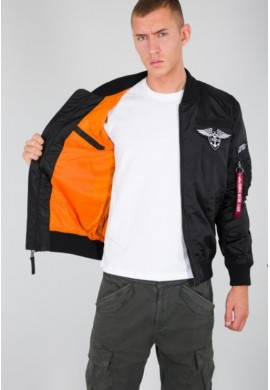Bunda MA-1 TT Patch SF_black_Alpha Industries