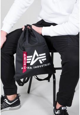 Alpha Gym Bag black Alpha Industreis