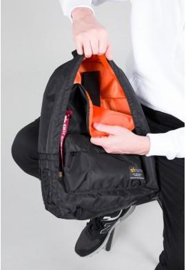 Crew Backpack black Alpha Industries