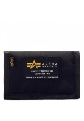 Peněženka Crew Wallet black Alpha Industries