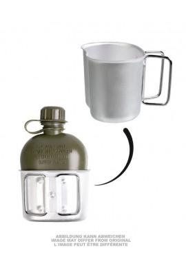 Rakouská polní láhev s pítkem