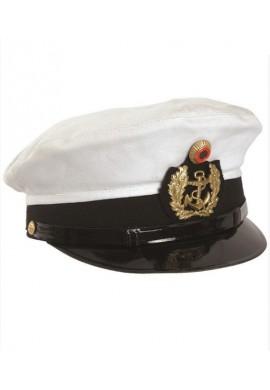 BW kapitánská námořnická čepice