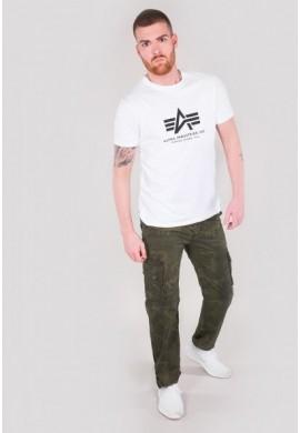 Kalhoty JET PANT Alpha Industries, Olive camo