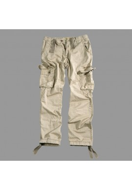 Kalhoty JET PANT Alpha Industries, Bone white
