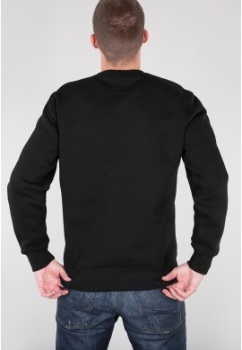 Mikina BASIC SWEATER Alpha Industries BLACK