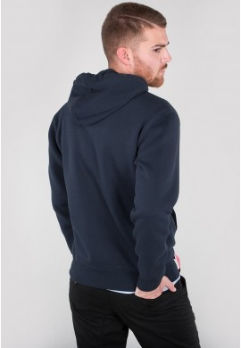 Mikina BASIC HOODY Alpha Industries, REPL.BLUE